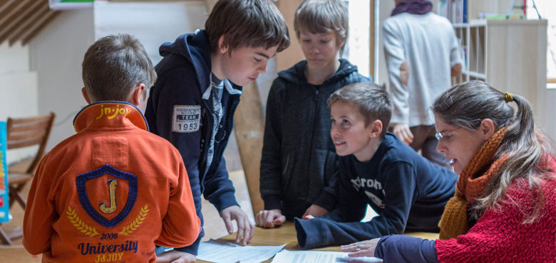9 initiatives inspirantes : Ecole démocratique de l'Orneau