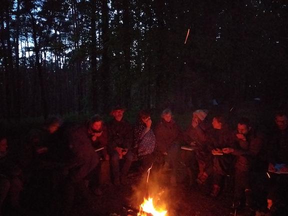 Temps 3 - Cycle de l'Arbre - feu de camp